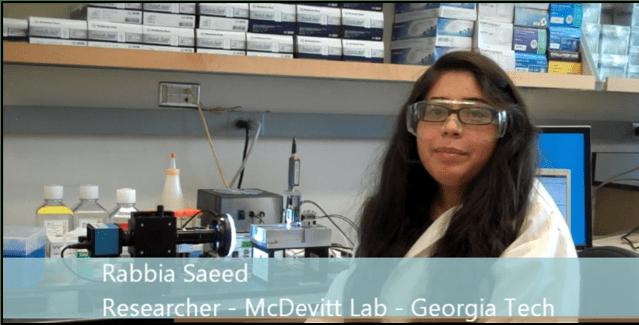 Cell Spheroid Testing at Georgia Tech